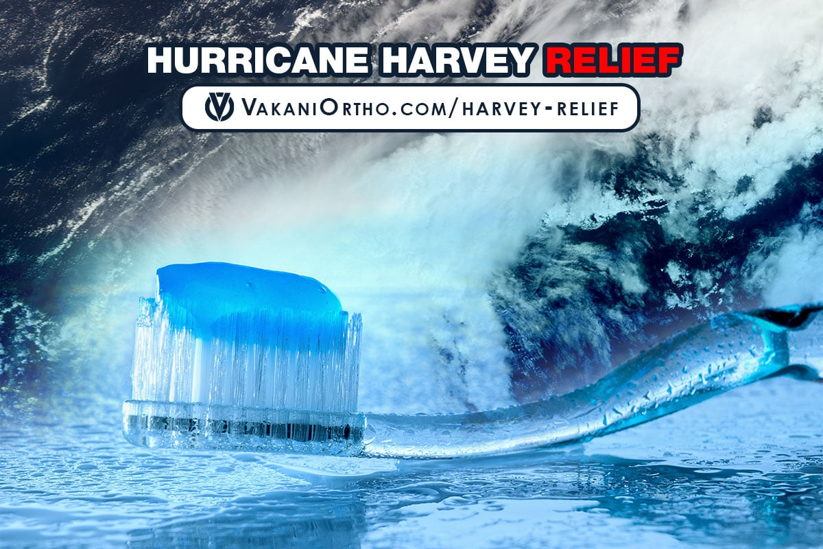 Hurricane Harvey Relief At Vakani Orthodontics Stuart FL Fort Pierce